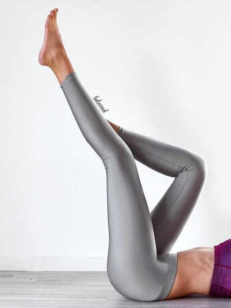 SUPER LYCRA SILVER LEGGINGS