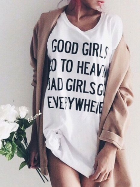 BAD GIRLS LONG TSHIRT