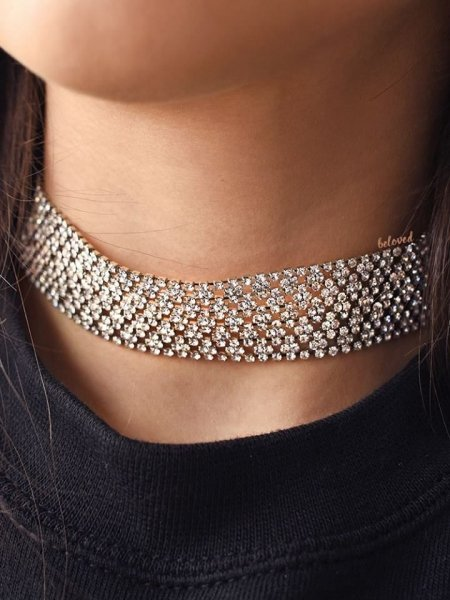 STRASS CHOCKER