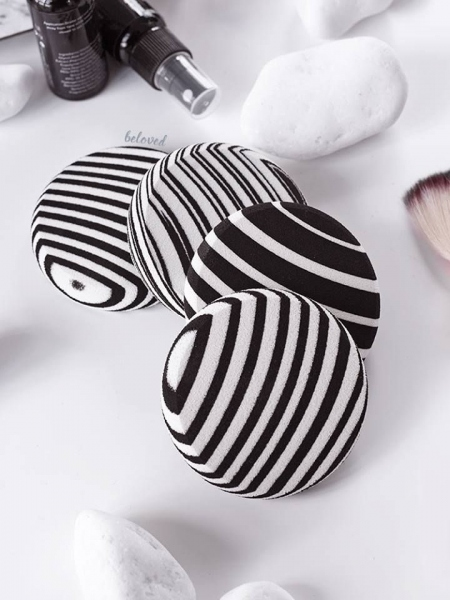 ZEBRA SPONGE SET OF 2