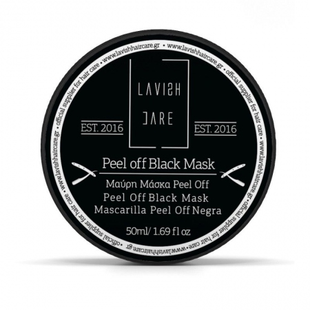 LAVISH CARE PEEL OFF BLACK MASK