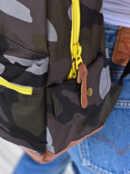 CAMO YELLOW BACKPACK