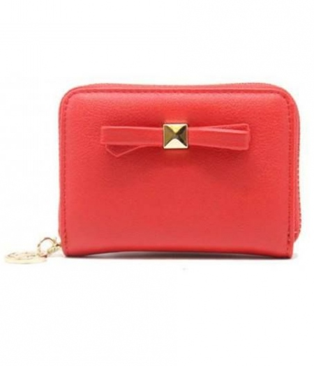 RED BOW WALLET