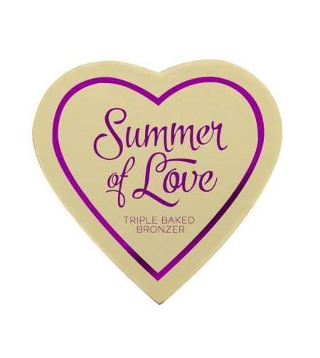 I HEART MAKEUP BLUSHING HEARTS – SUMMER OF LOVE BRONZER