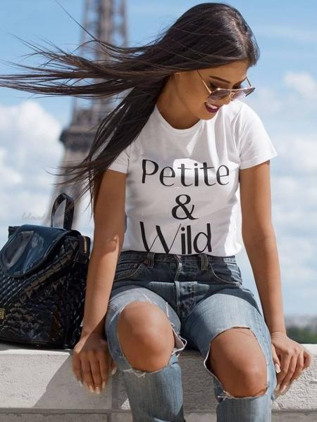 PETITE & WILD TSHIRT