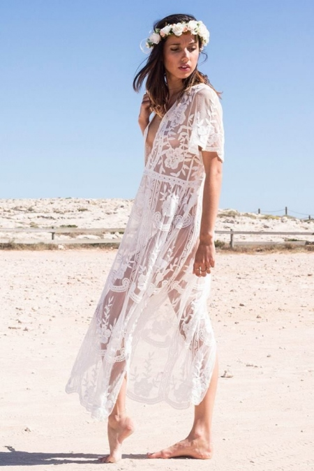 PENELOPE MAXI LACE DRESS