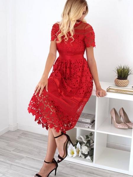 GIOVANNA RED DRESS