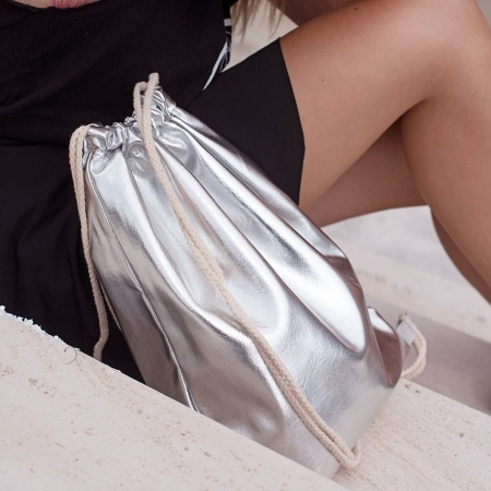 BASIC SILVER BACKPACK