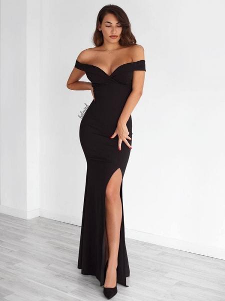 GILDA BLACK MAXI DRESS