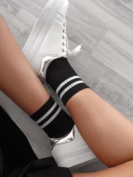 BASKET BLACK SOCKS