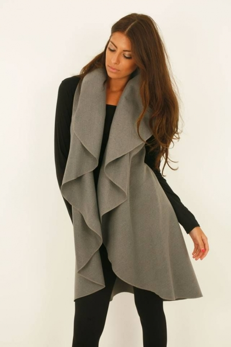 WOOL GREY GILLET