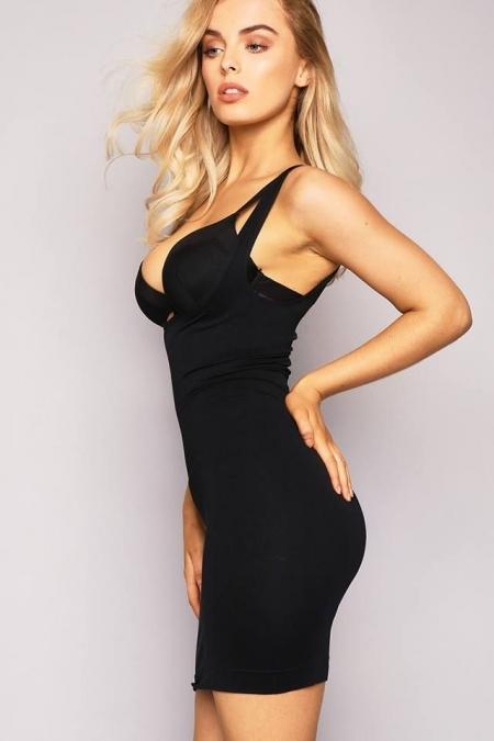SHAPER BLACK DRESS