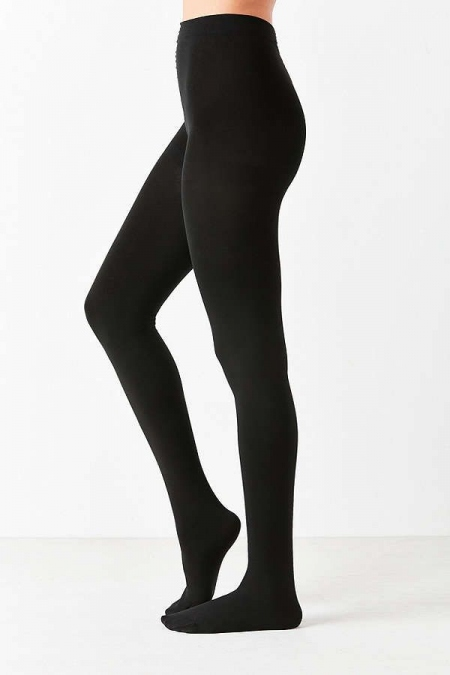 OPAQUE BLACK TIGHTS 320DEN