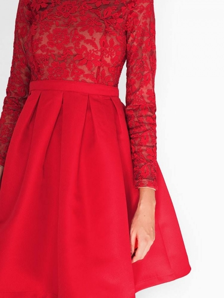 BETINA RED DRESS