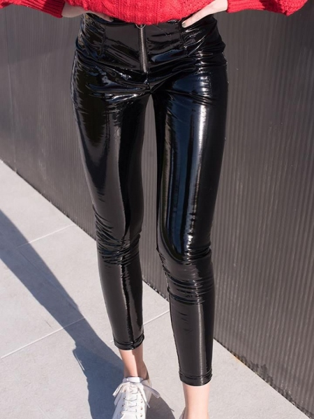 REGINA VINYL LEGGINGS