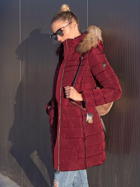 WINE PADDED JACKET