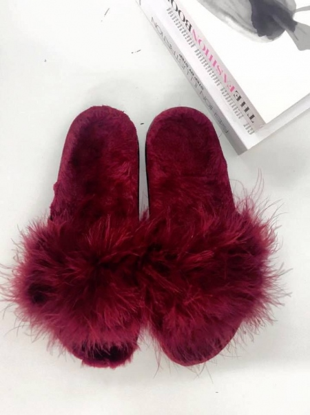 MISSANDEI FUR SLIPPERS