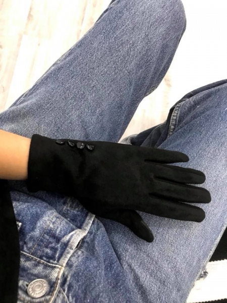 BLACK BASIC GLOVES