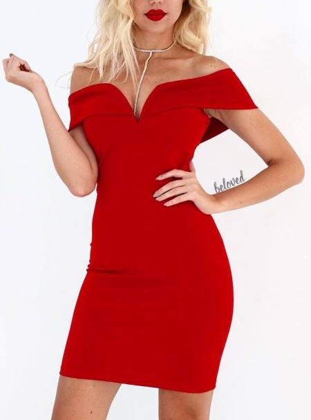 MALENA RED DRESS