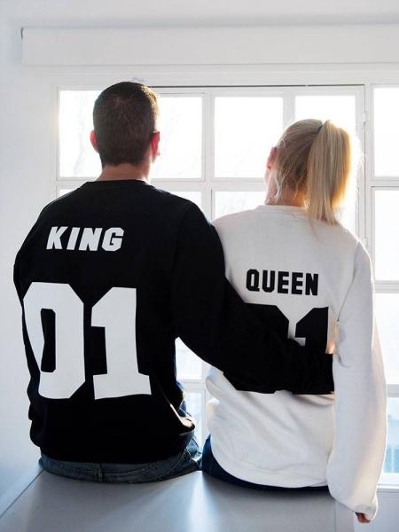 KING 01 & QUEEN 01 SWEATSHIRT set
