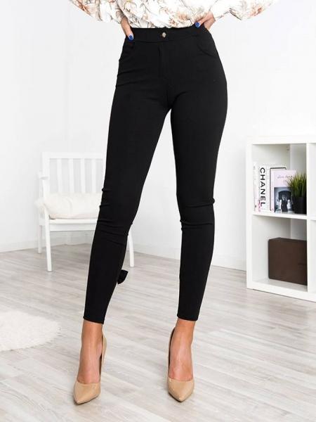 AMANDA BLACK BOW PANTS