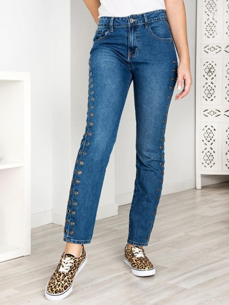 CORINA MOM FIT JEANS