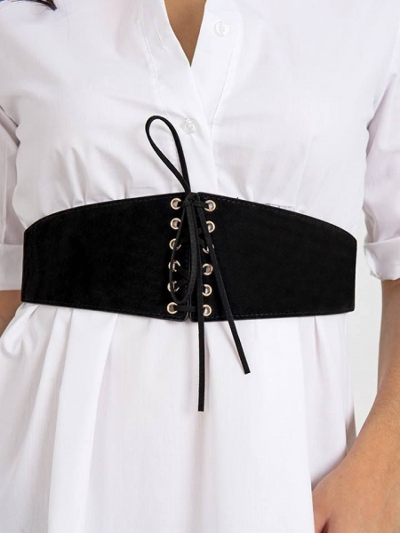 LACE BLACK BELT