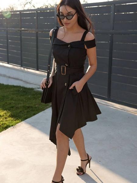HEATHER BLACK DRESS
