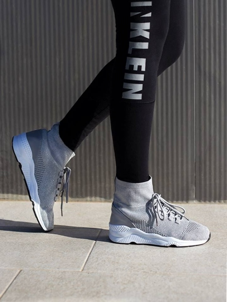 DART SILVER SOCK SNEAKERS
