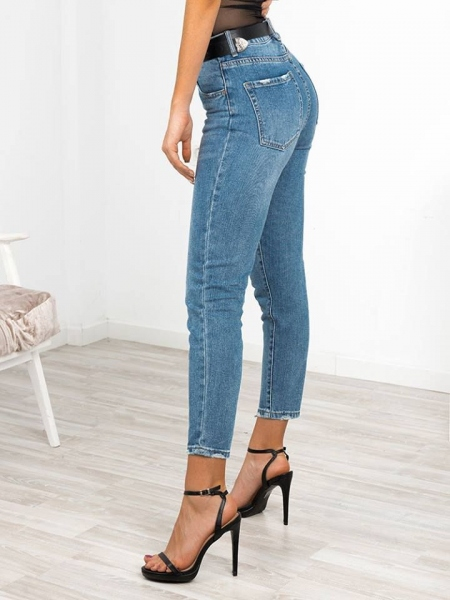 CAMELIA MOM FIT JEANS