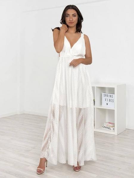 REESE WHITE MAXI DRESS