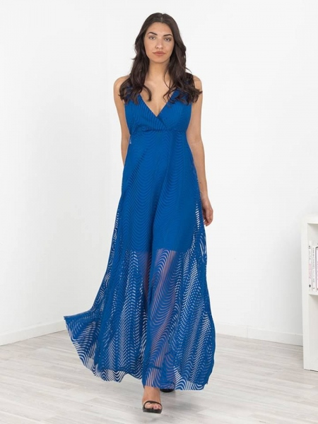 REESE BLUE MAXI DRESS