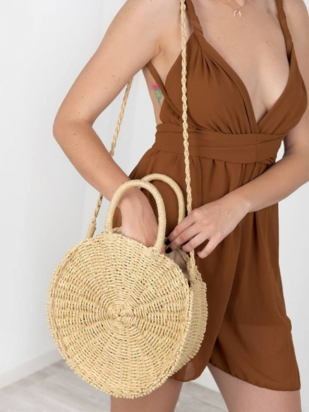 CANNES LIGHT STRAW BAG