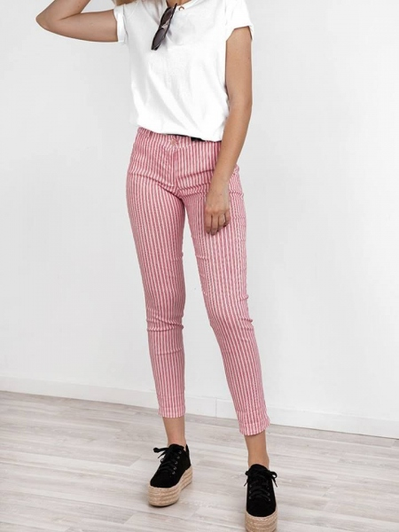 FIONA RED PANTS