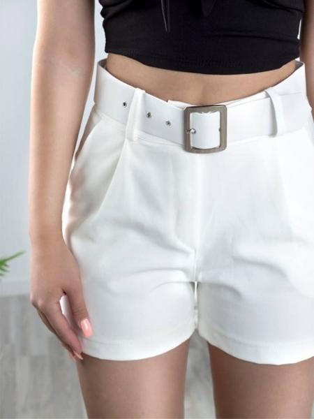 TINA WHITE SHORTS