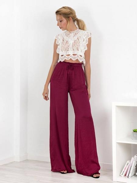 pantalone fushia purple παντελονα φουξ 01