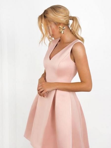CINDERELLA PINK SATIN DRESS
