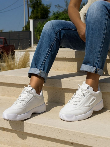 SHARK WHITE SNEAKERS
