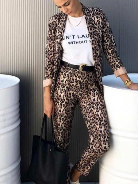 FENA LEOPARD SUIT (TWO-PIECE)