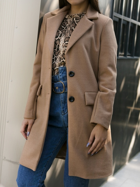 MORGAN CAMEL COAT
