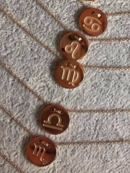 HOROSCOPE GOLD NECKLACE (12 SIGNS)
