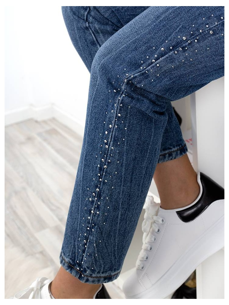 BERMINGHAM MOM FIT JEANS