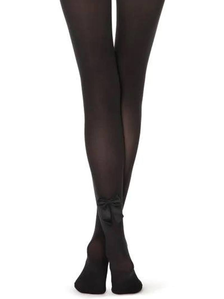 BLACK BOW TIGHTS