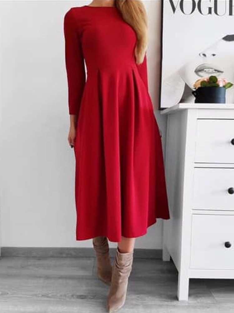 7ea8aa390196 DIANA RED MAXI DRESS