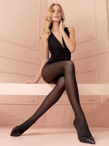 2 PACK BLACK TIGHTS ( 20 DEN )
