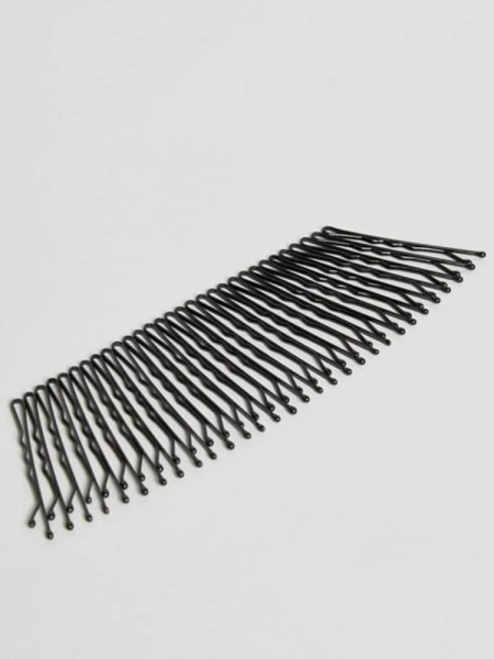 BLACK BOBBY PINS (30 PIECES)