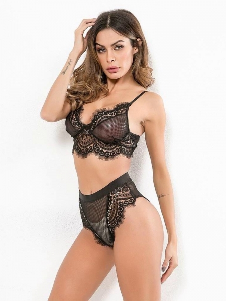 SIN BLACK LINGERIE SET