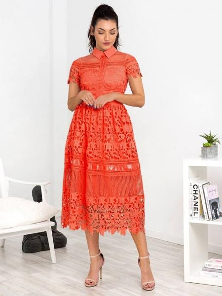 GIOVANNA CORAL DRESS