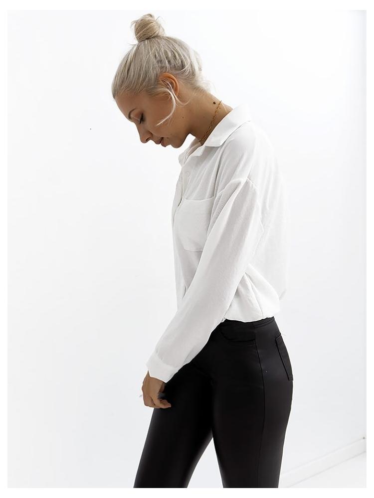 COLE WHITE BASIC SHIRT
