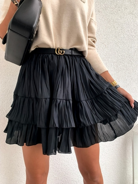 FORGE BLACK SKIRT